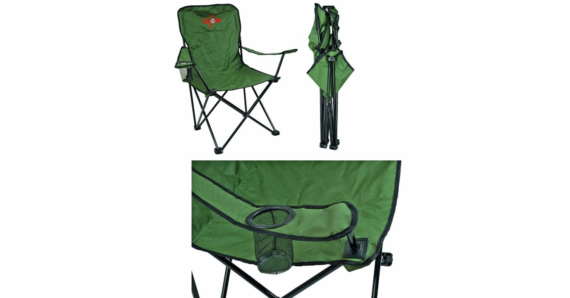 Carp Zoom Összecsukható horgász szék kartámasszal