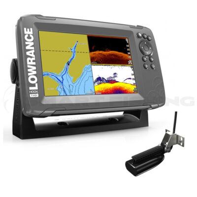 Lowrance HOOK2 7 GPS Splitshot