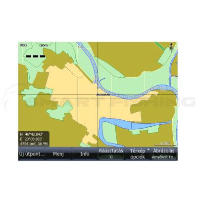 Tisza térkép SD kártyán